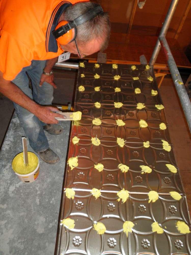 Installation Wunderlite Reproduction Panels